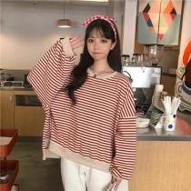 韓國東大門韓系BF寬鬆厚質棉質慵懶休閒風T恤 3色