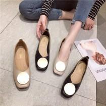 韓國東大門-售NO1造型圓銅時尚鞋~尺碼多款超軟超舒服~35~41碼 2色