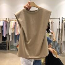 韓國東大門♛~韓國首爾熱賣♛百搭設計款透氣親膚圓領上衣♛✿超甜美~✿~超實搭~~超推!!  三色可選   S-XL